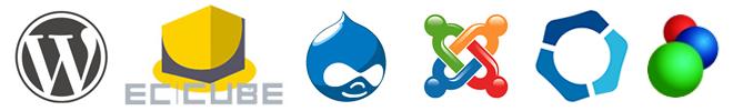 WordPress・EC-CUBEでWebシステム開発CMS構築